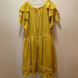 Eloquii Dresses - 🎉Host Pick🎉 Eloquii Ruffles and Pintuck Dress